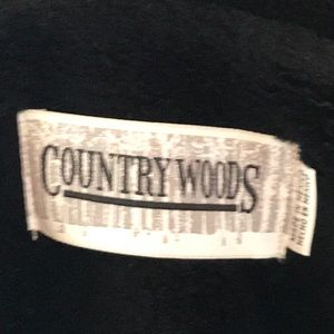 Vintage Jackets & Coats - CHICO COUNTRY WOODS FAUX FUR TEDDY JACKET Sz S